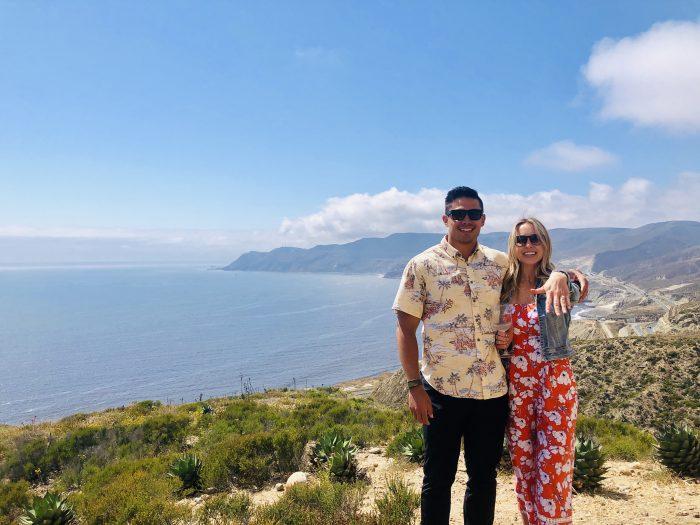 Aubrianna and Jereme's Engagement in Cuatro Cuatros Bar Valle De Guadalupe