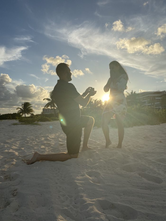 Marriage Proposal Ideas in Cancun, Mexico