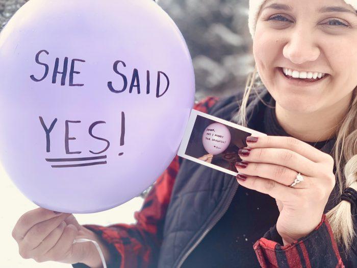 Amber Reneé's Proposal in Breckenridge, Colorado