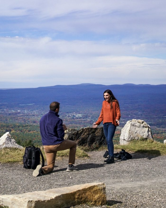 Marriage Proposal Ideas in Mohonk Mountain, NY