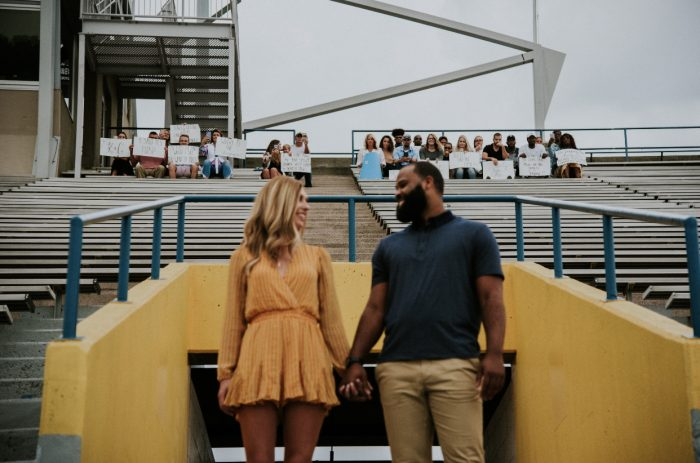 Where to Propose in Dix Stadium at Kent State University