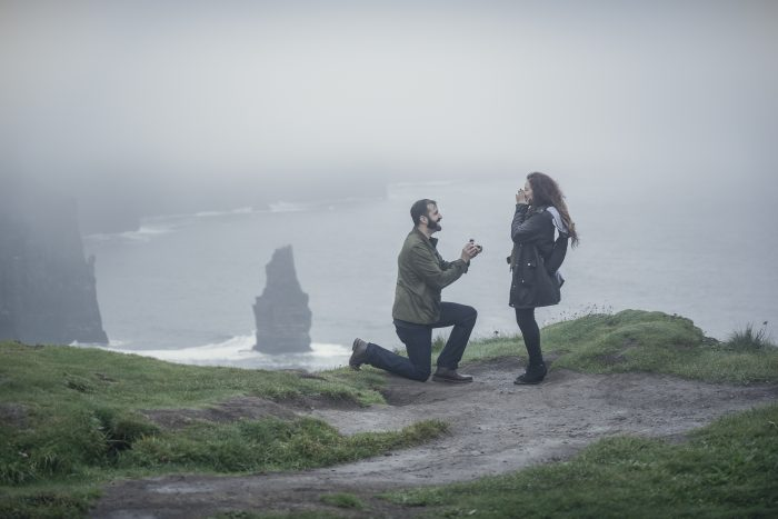 Alexsis's Proposal in Cliffs of Mohher