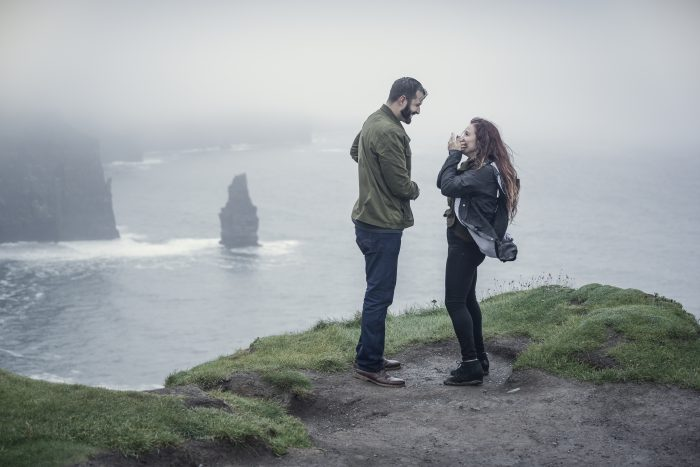 Engagement Proposal Ideas in Cliffs of Mohher