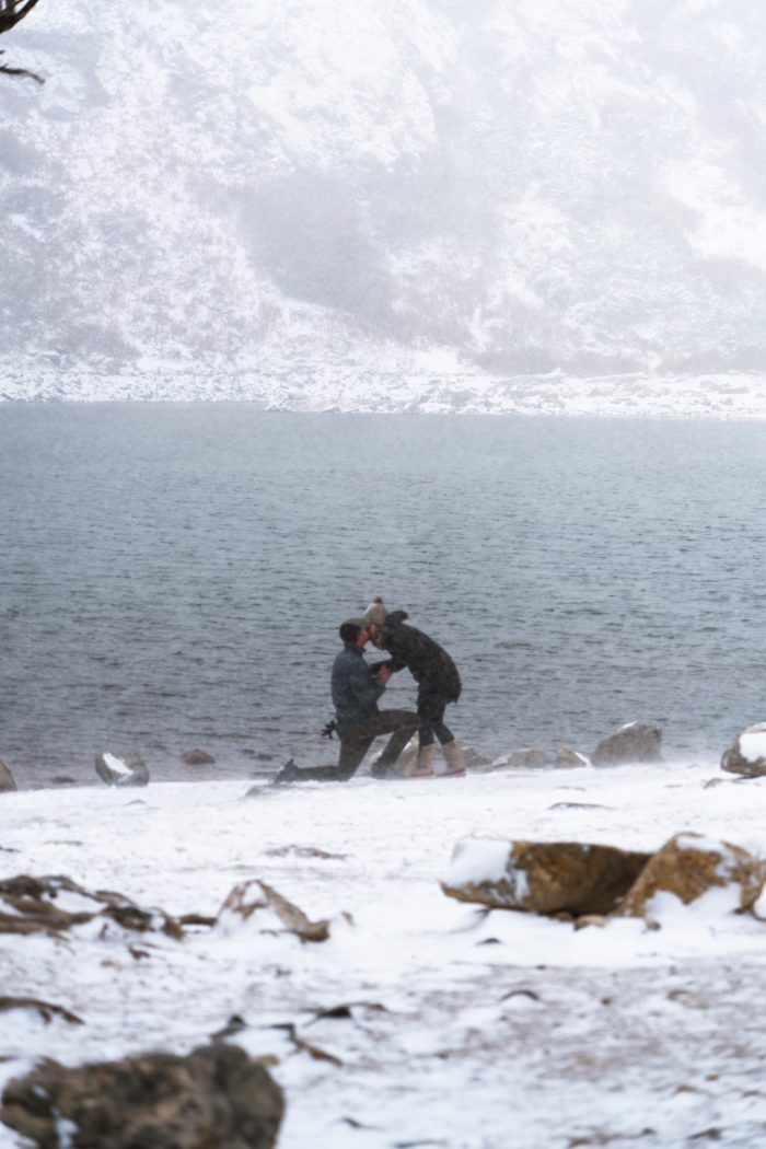 Where to Propose in St. Mary's Glacier (CO)