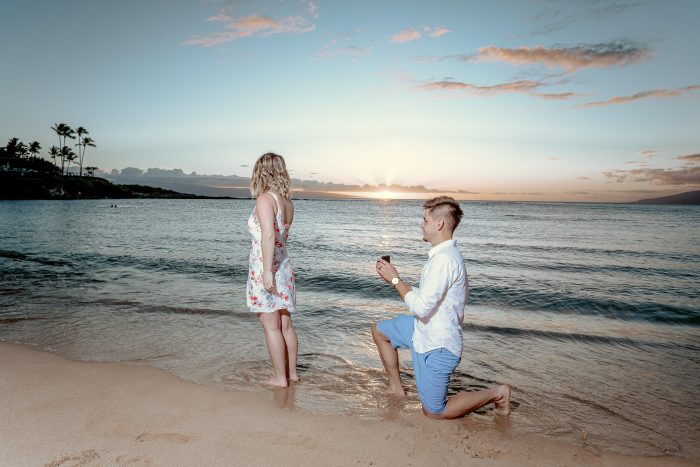 Wedding Proposal Ideas in Maui Hawaii