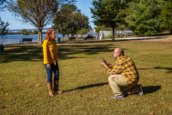 Engagement Proposal Ideas in Red Bank Battlefield