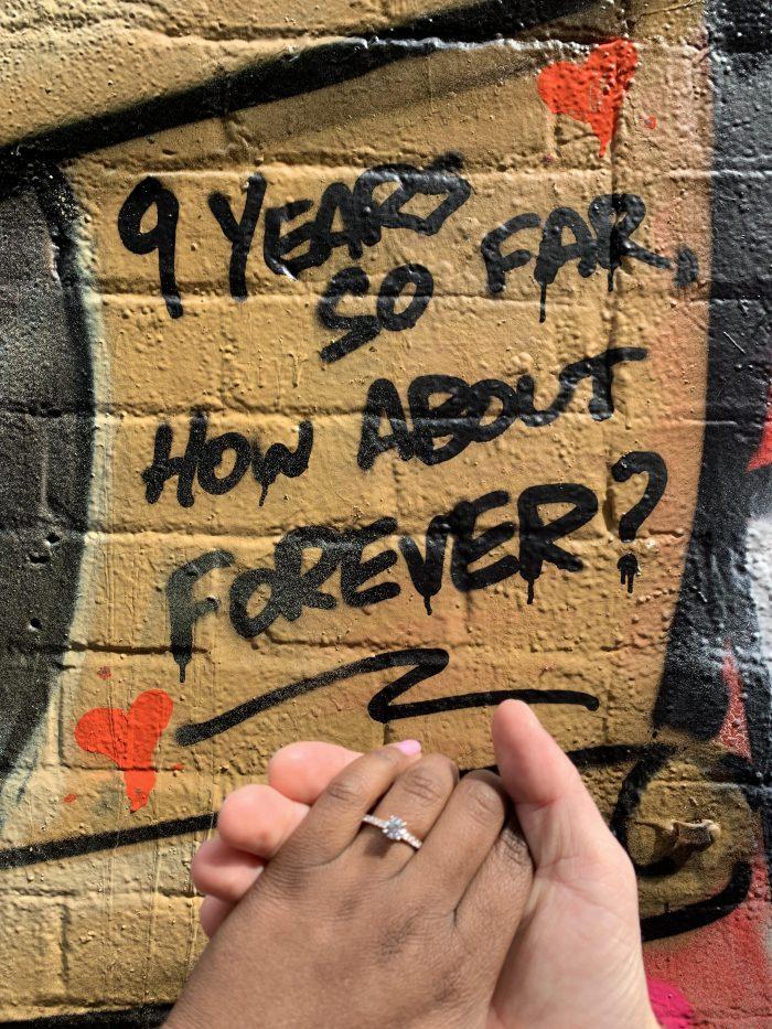 Nalini's Proposal in Fitzroy, Melbourne - Australia