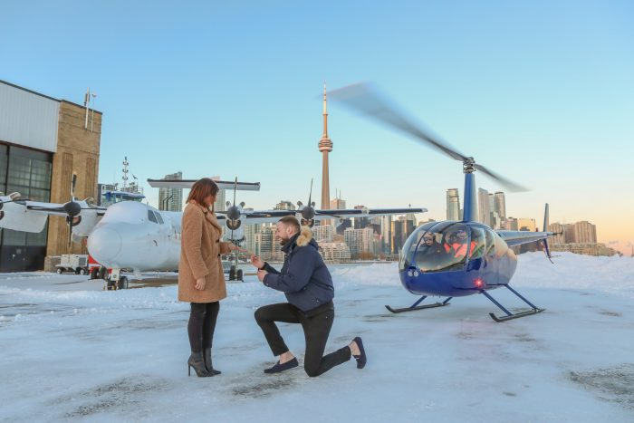 Meral's Proposal in Toronto, Canada
