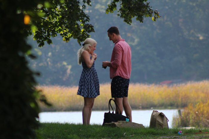 Laura's Proposal in Mystic, CT