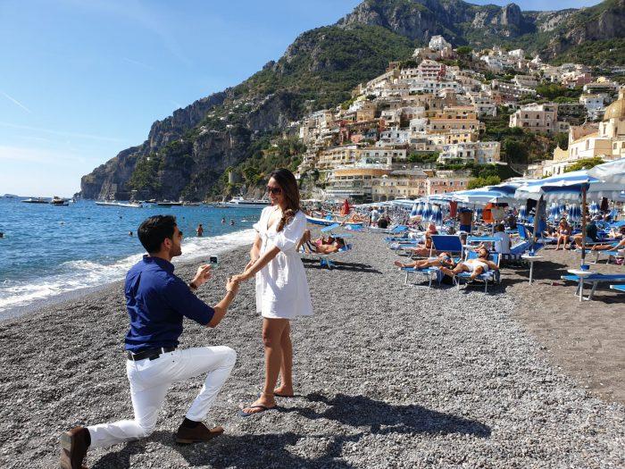 Wedding Proposal Ideas in Positano, Amalfi Coast, Italy