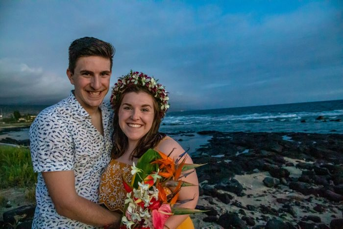 Alix's Proposal in Kona, Hawaii