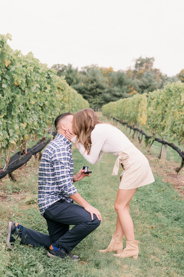 Casey's Proposal in Beneduce Vineyards