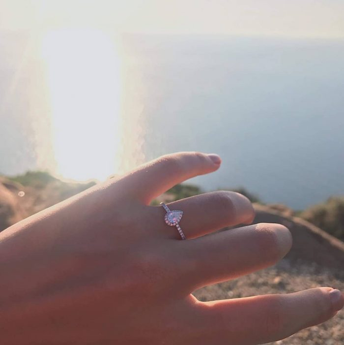 Marriage Proposal Ideas in On the top of mountain