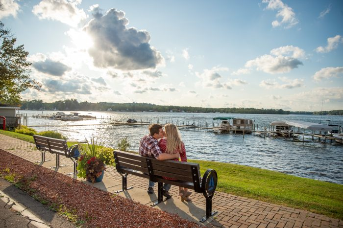 Wedding Proposal Ideas in Ellicottville Brewing on Chautauqua in Bemus Point, NY