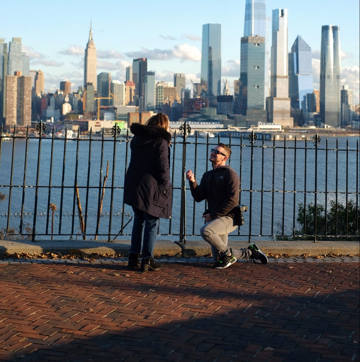 Marriage Proposal Ideas in Edgewater, New Jersey
