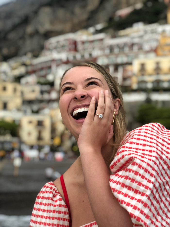 Kelsey and Andy's Engagement in Positano, Italy