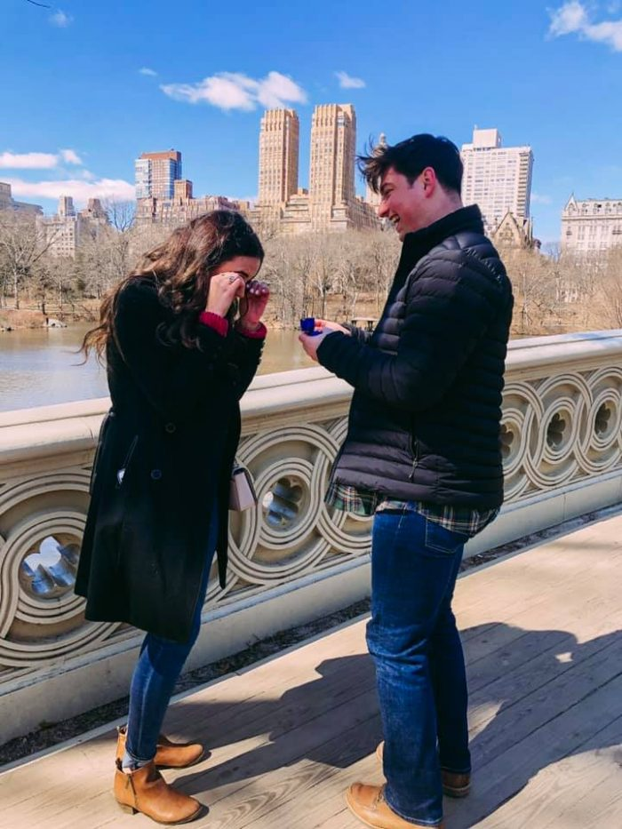 Tia and Tyler's Engagement in New York City Central Park