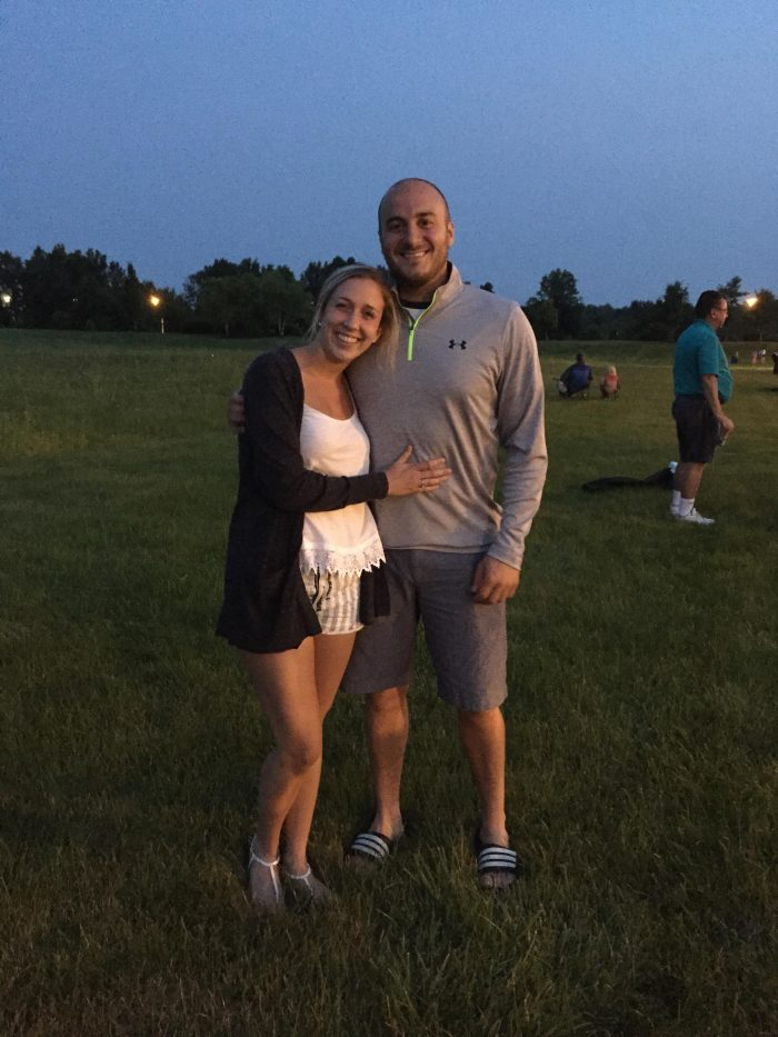 Wedding Proposal Ideas in At our home in Westerville, OH
