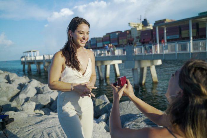 Lisana's Proposal in Miami, FL