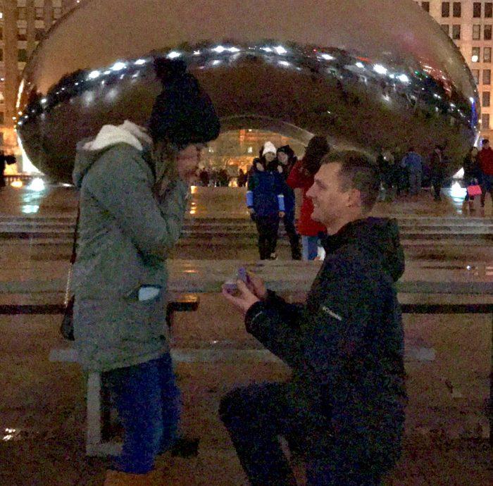 Engagement Proposal Ideas in Millenium Park