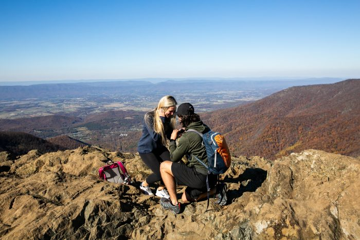 Wedding Proposal Ideas in Shenandoah National Park, VA, USA