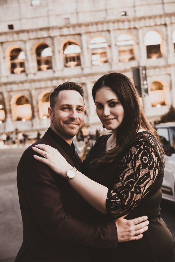 Arielle and William's Engagement in Rome, Italy