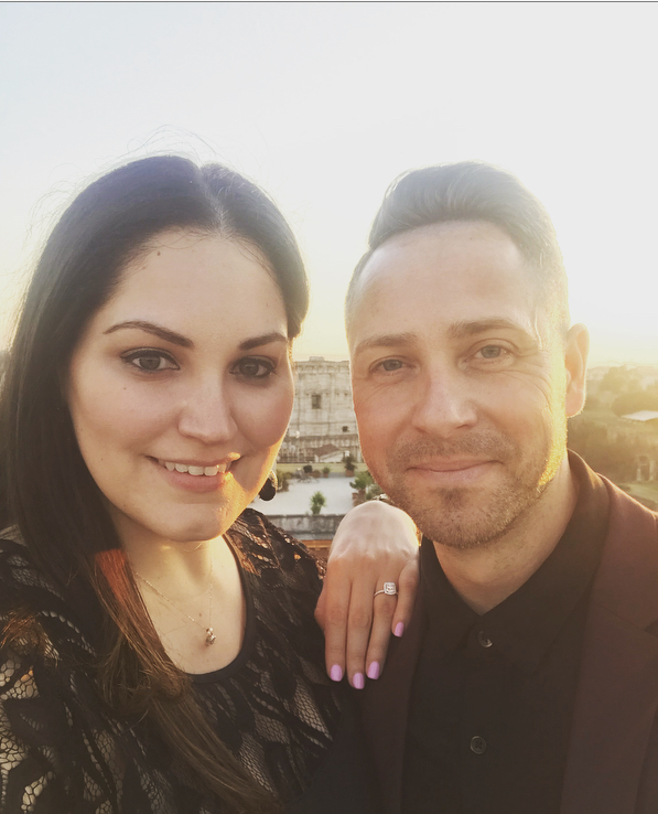 Arielle's Proposal in Rome, Italy