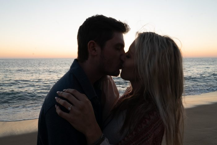 Ashley and Alexander's Engagement in Malibu California