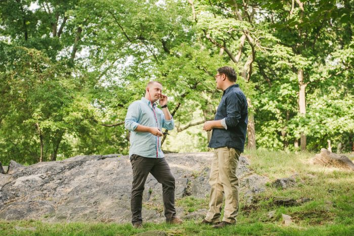 Bradley and Eddie's Engagement in Central Park, New York City