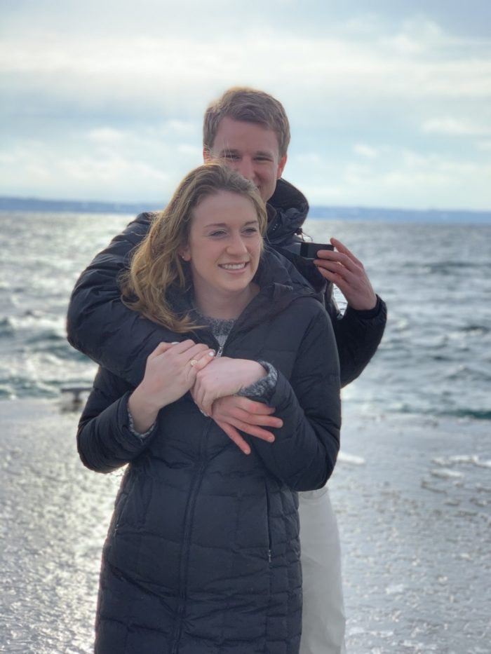 Kaitlyn and Mark's Engagement in Harbor Springs, MI