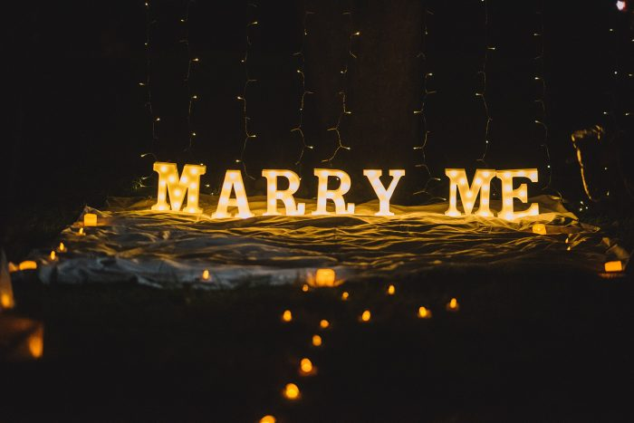 Marriage Proposal Ideas in Bishops park london