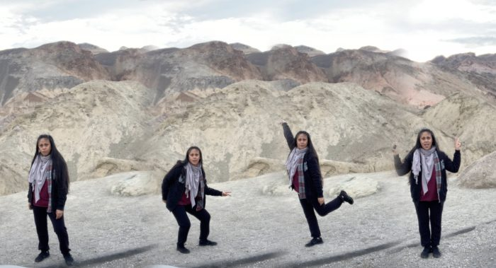 Bel's Proposal in Badwater Basin - Death Valley