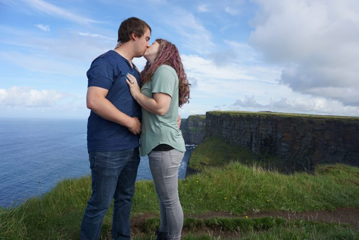 Anna's Proposal in Cliffs of Moher, Ireland