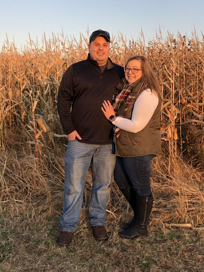 Sara and Jake's Engagement in Hartville Ohio