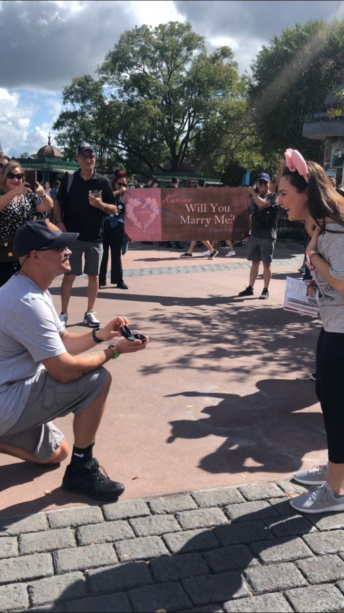 Marriage Proposal Ideas in Walt Disney World- Epcot- France Pavillion
