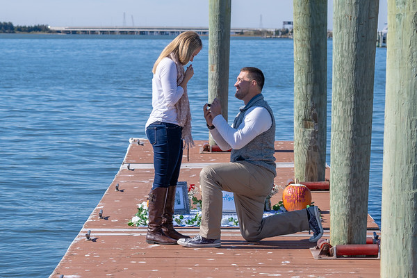 Marriage Proposal Ideas in The Crab Trap in Somers Point, New Jersey