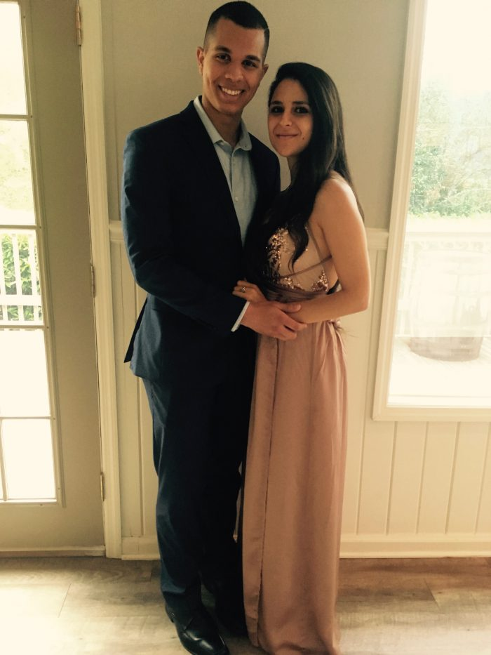 Josh and Narmien's Engagement in Harvard Widener Library
