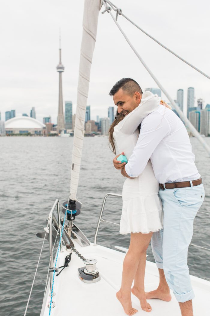 Ritika's Proposal in Lake Ontario, Toronto