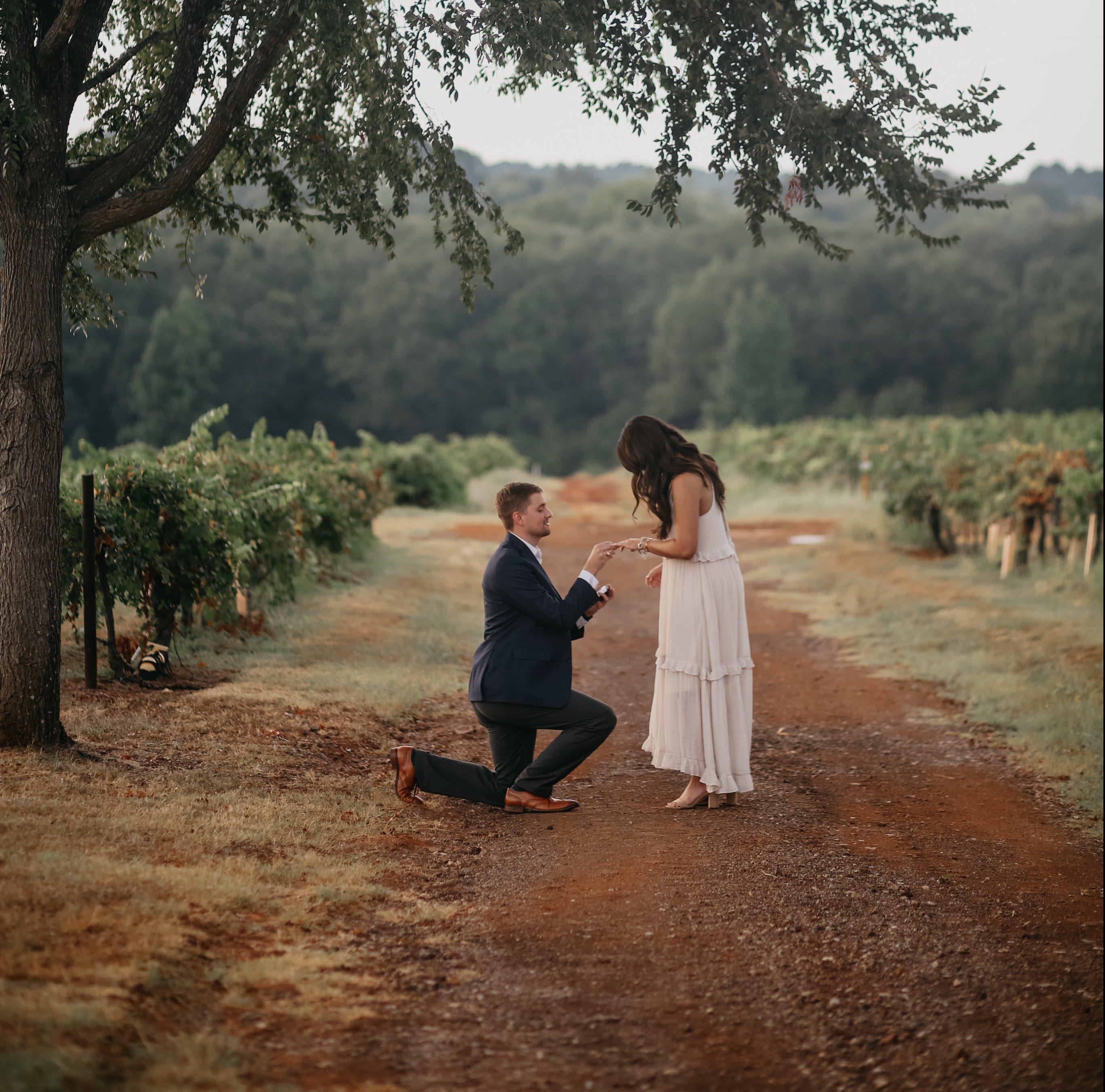 Madison's Proposal in Kiepersol Winery