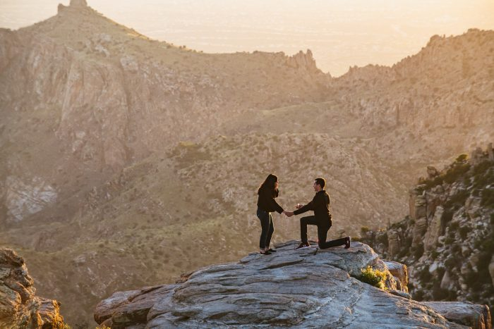 Engagement Proposal Ideas in Mt Lemmon, Arizona