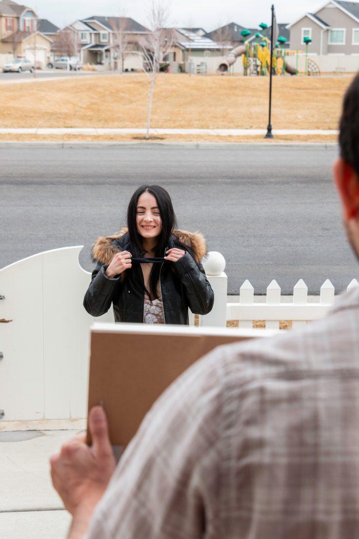 Carolina and Antonio's Engagement in The Real Up Hours in Herriman Utah, USA
