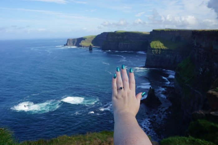 Marriage Proposal Ideas in Cliffs of Moher, Ireland