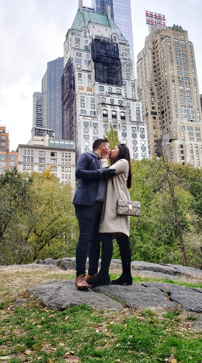 Cessa's Proposal in Central Park, New York
