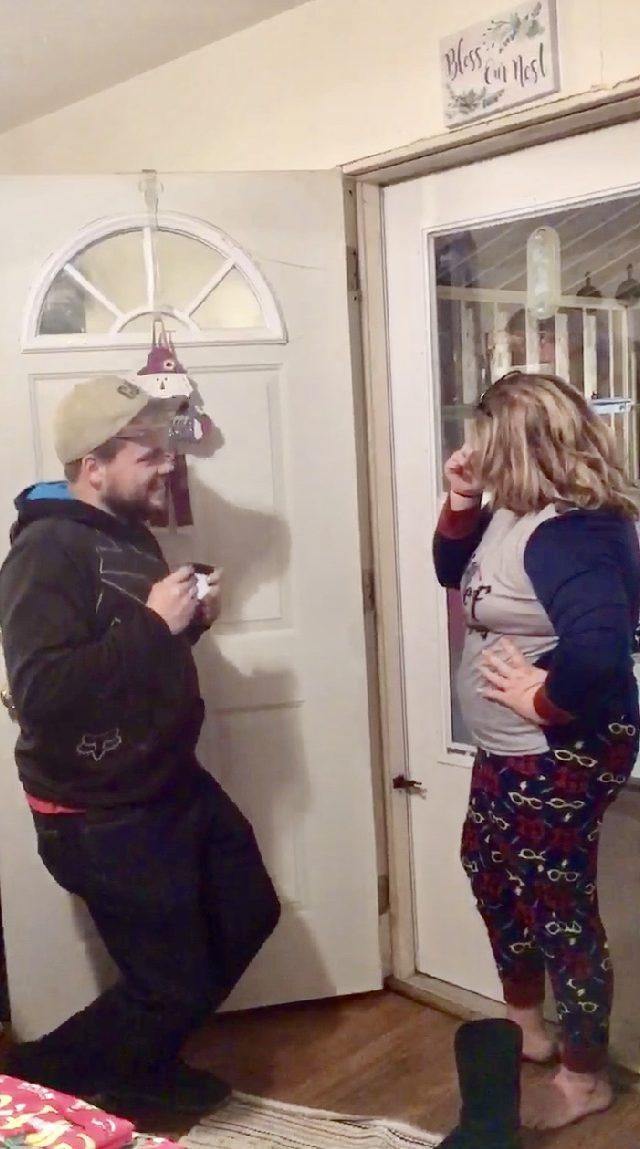 Elizabeth's Proposal in My moms