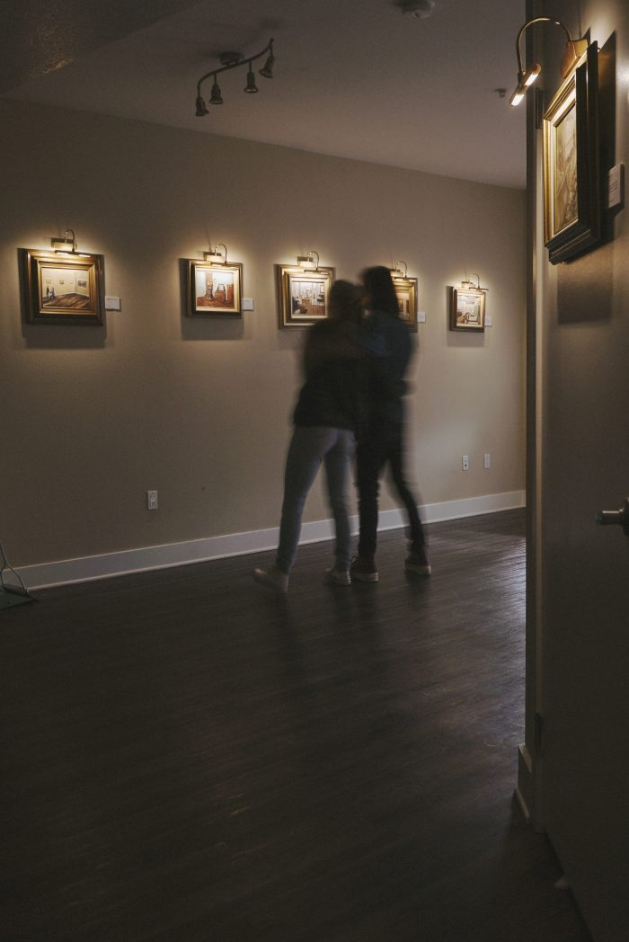 Tristen's Proposal in Our Living Room Gallery