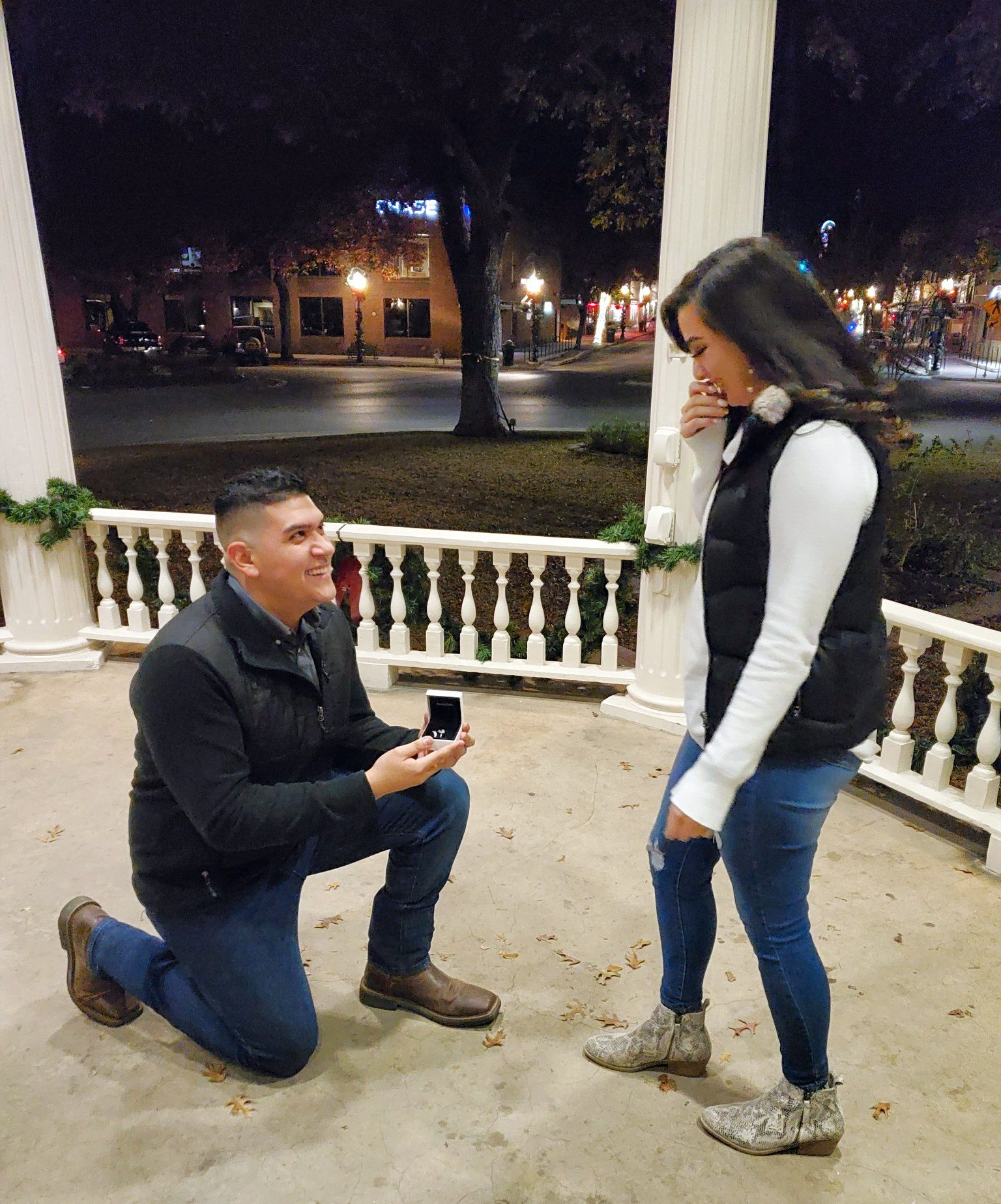 Deanna's Proposal in New Braunfels, Texas