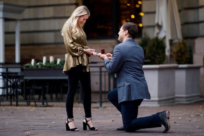 Sierra and Alex's Engagement in Denver, Colorado