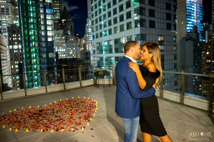 Engagement Proposal Ideas in NYC Rooftop