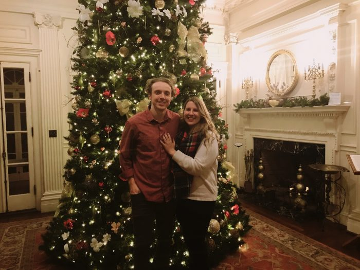 Marriage Proposal Ideas in Blithewold Mansion - Rhode Island