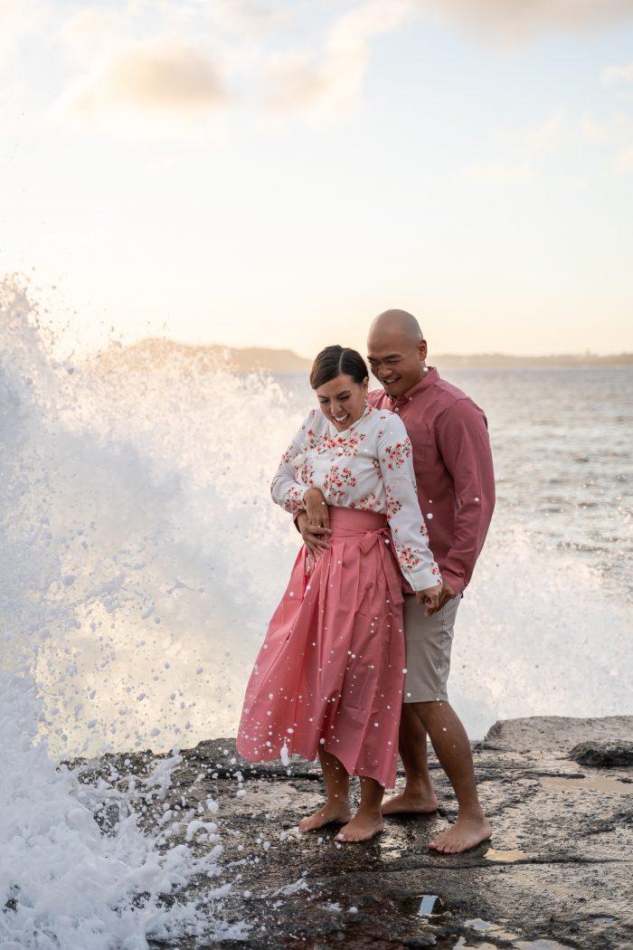 Marriage Proposal Ideas in Chin Walls on Oahu, Hawaii